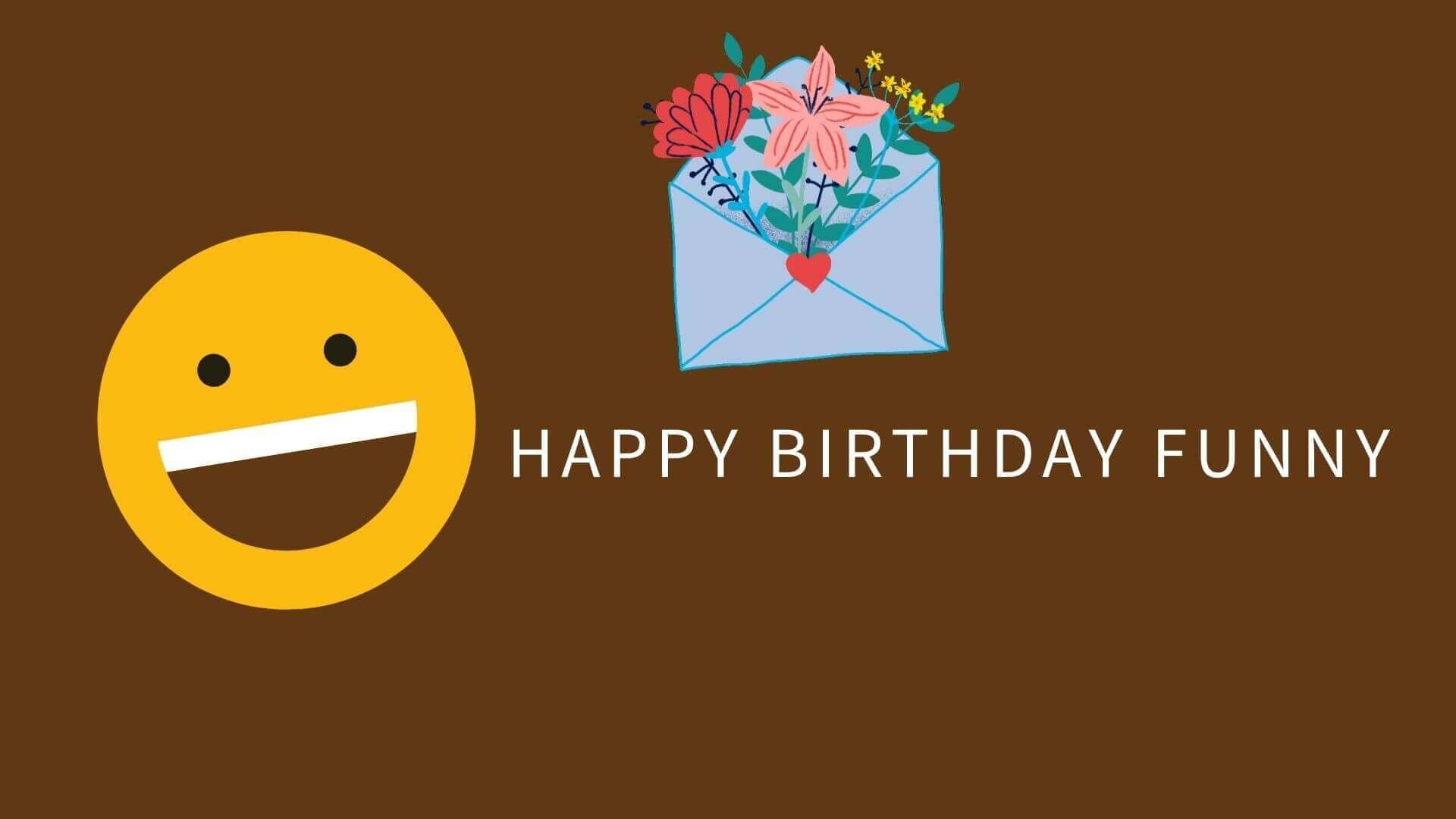 Happy Birthday Funny Friend Image