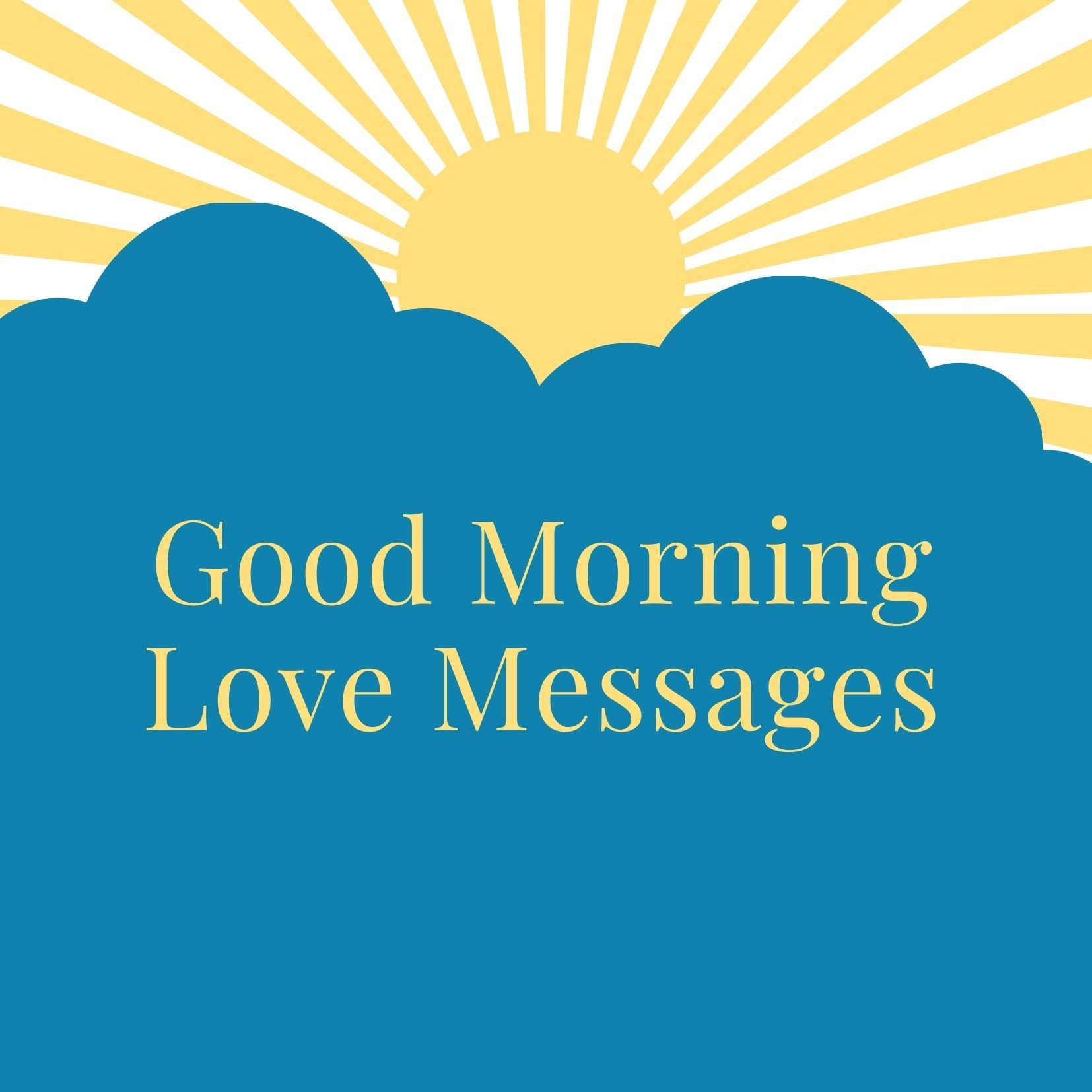 Good morning Love messages image free