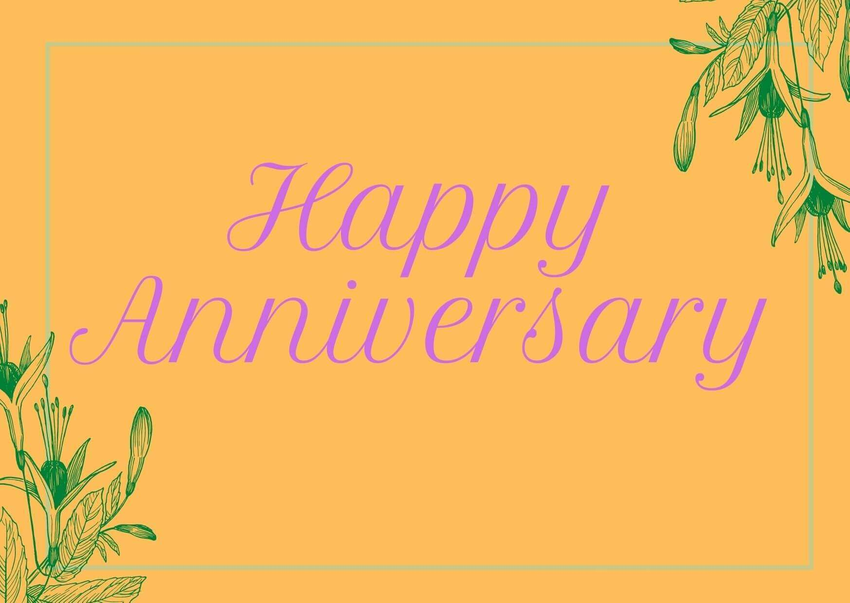 Wedding Anniversary Wishes for Sister Image