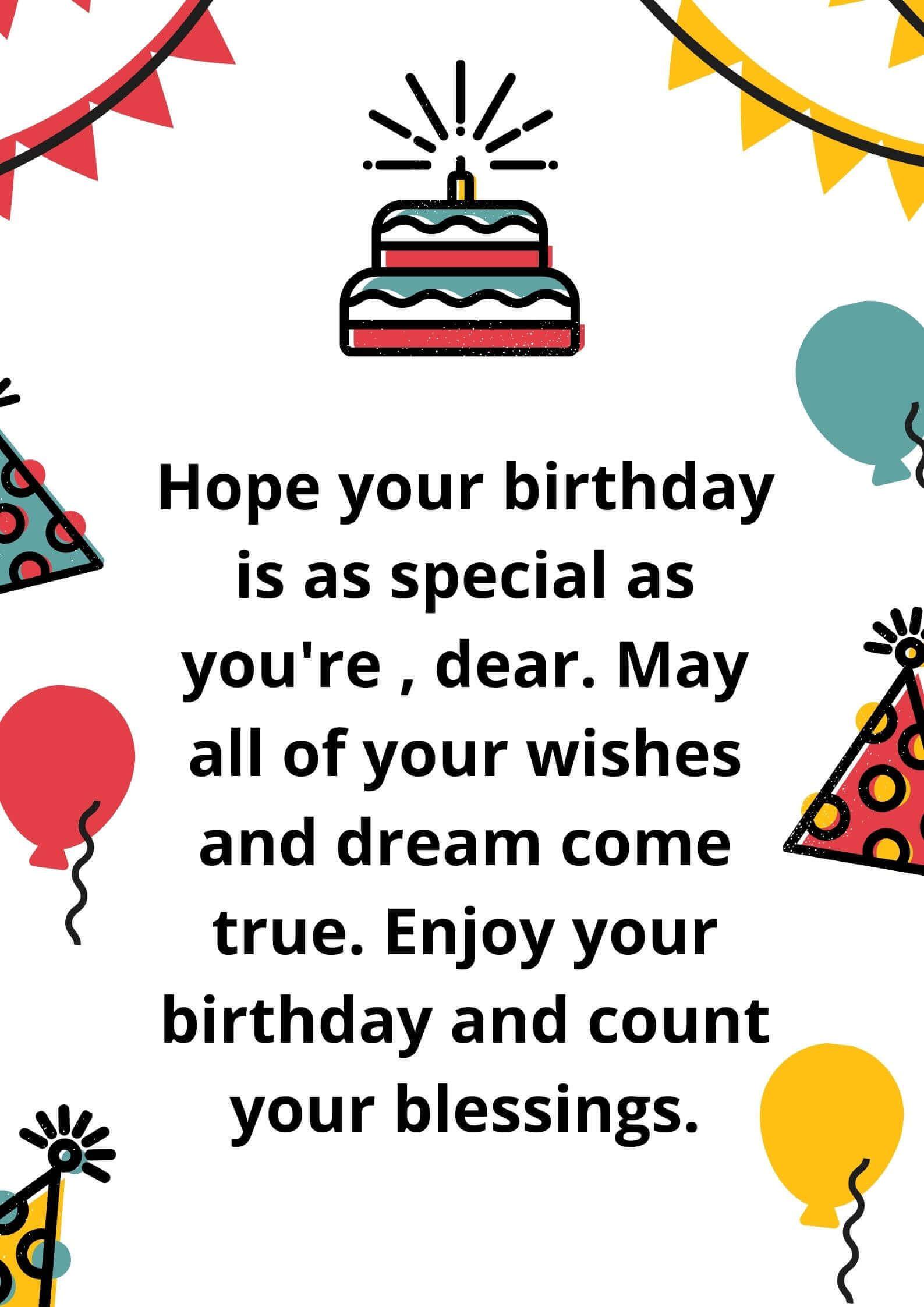 Happy Birthday Wish Image