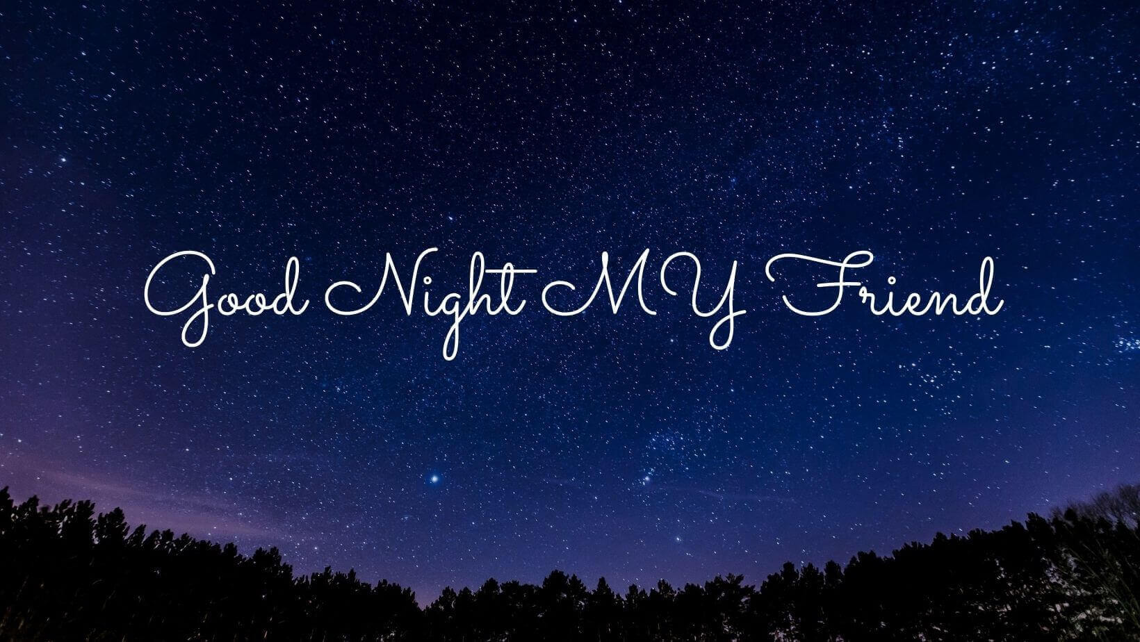Good Night Messages for Friend Image