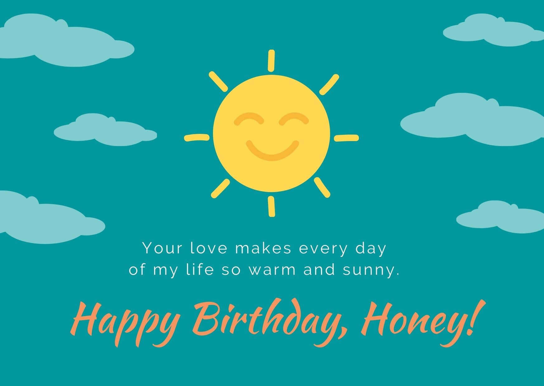 Happy Birthday My Love Wife
