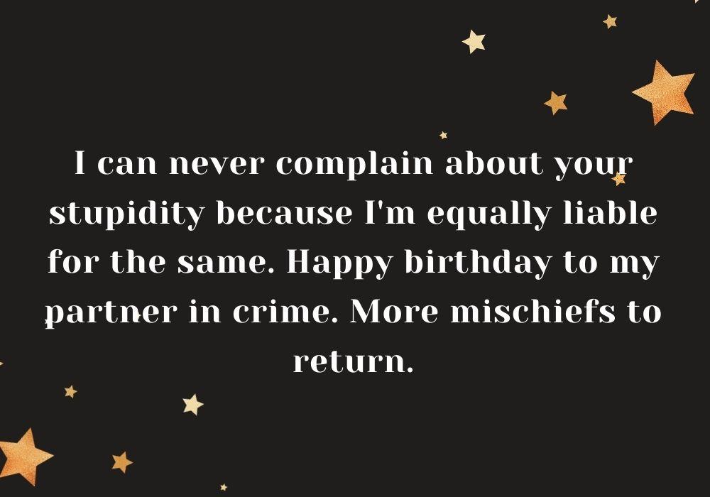 Funny Happy Birthday Wish free image