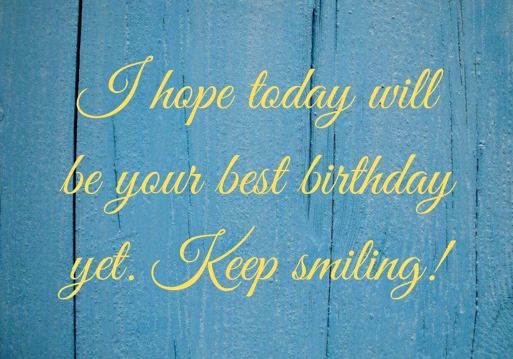 Cute Birthday Wish image free Pic